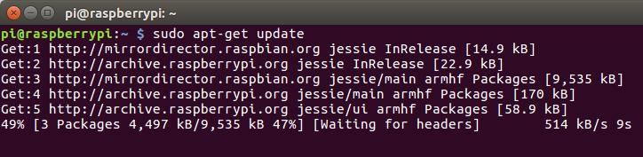 Update Raspbian Repositories